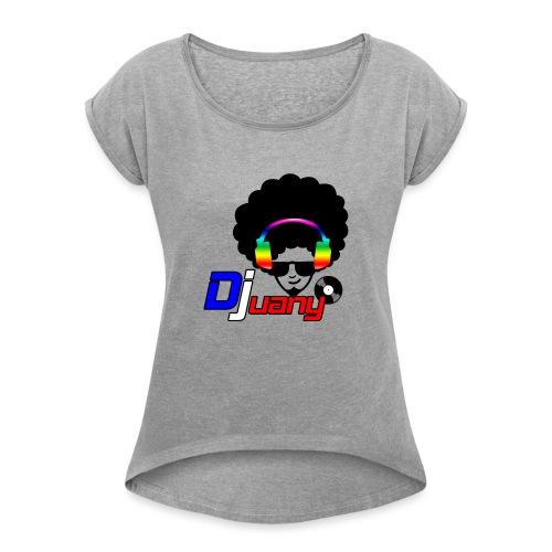 Djuany logo - Maglietta da donna con risvolti