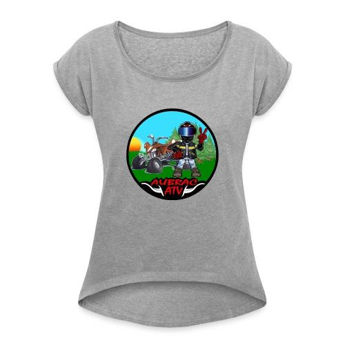 Logo aubrac ATV - T-shirt à manches retroussées Femme