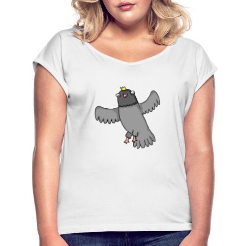OpperDuif - Vrouwen T-shirt met opgerolde mouwen