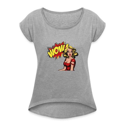 Il Comunista Latente, la donna. - Maglietta da donna con risvolti
