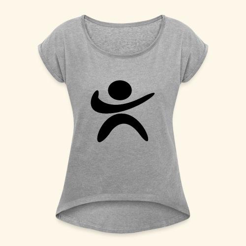 D3 LOGO SPORT - T-shirt à manches retroussées Femme