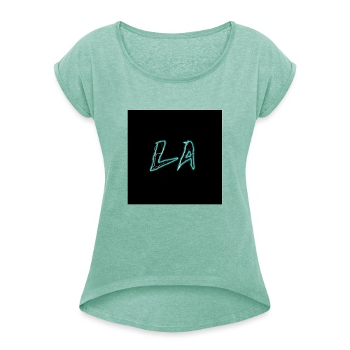 LA 2.P - Women's T-Shirt with rolled up sleeves