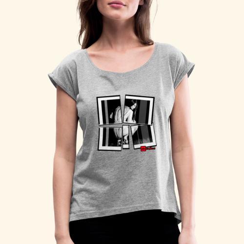 asia art 3 - T-shirt à manches retroussées Femme