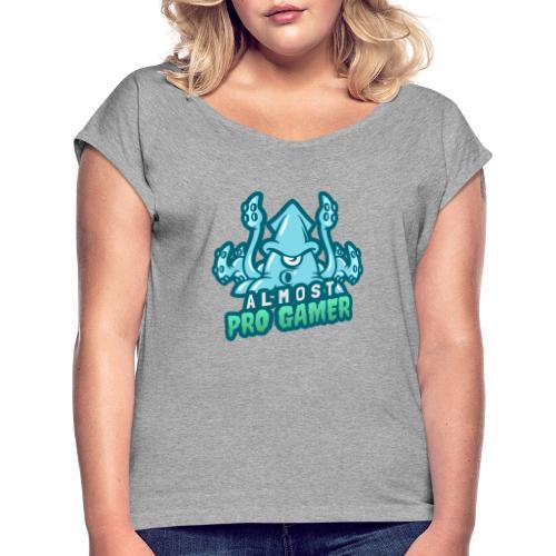 Almost Pro Gamer - Maglietta da donna con risvolti