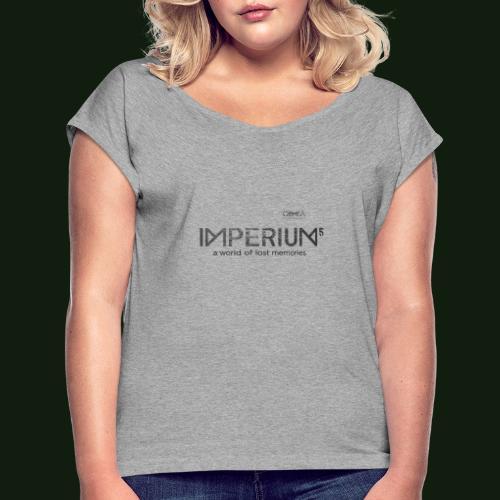Tee shirts Imperium Logo - T-shirt à manches retroussées Femme