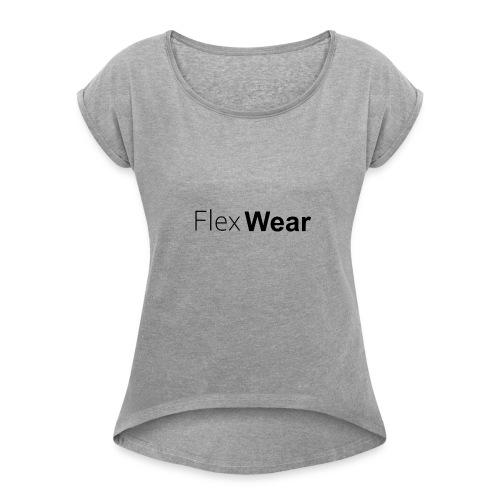 FlexWear Standard - T-skjorte med rulleermer for kvinner