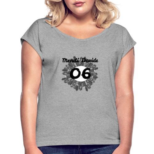 MendiDavide06 - Maglietta da donna con risvolti