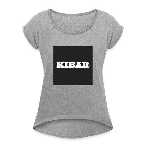 KIBAR - Dame T-shirt med rulleærmer