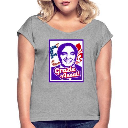 Mighty Mood - Rocco President! - Maglietta da donna con risvolti