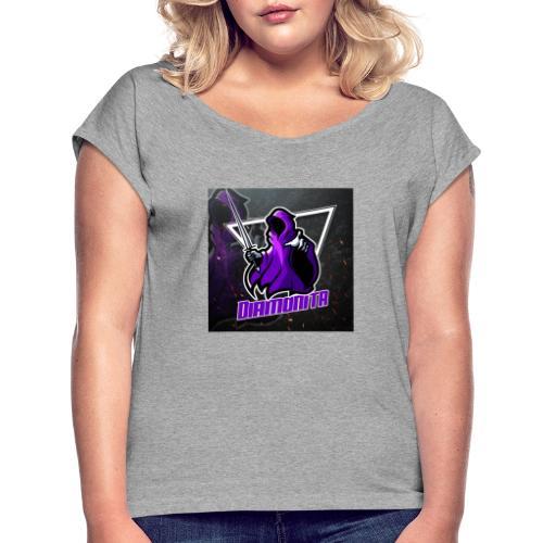 Diamonita ghost - Dame T-shirt med rulleærmer