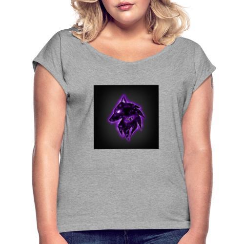 Jesol logo 2.0 - T-shirt med upprullade ärmar dam