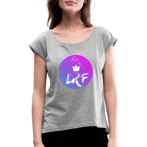 LRF rond - T-shirt à manches retroussées Femme