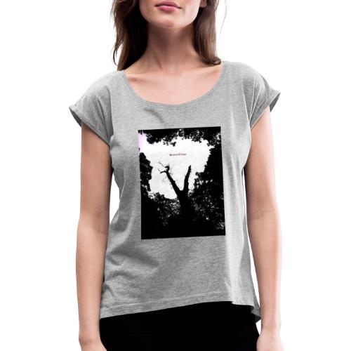 Scarry / Creepy - Women's T-Shirt with rolled up sleeves