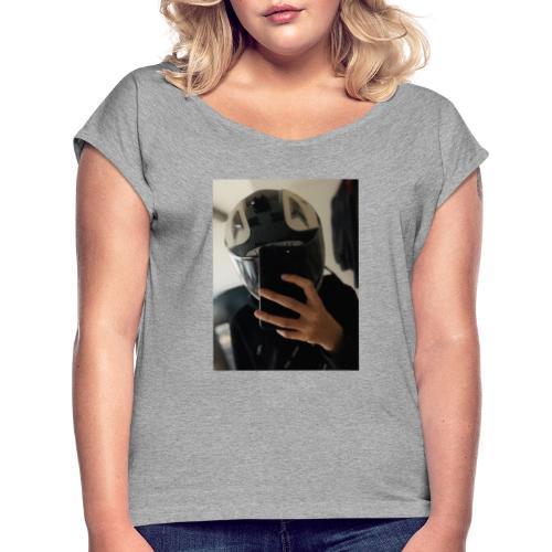mojo 2 - Frauen T-Shirt mit gerollten Ärmeln
