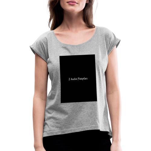 Deep - Frauen T-Shirt mit gerollten Ärmeln