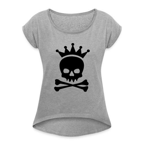 Roi des pirates - T-shirt à manches retroussées Femme