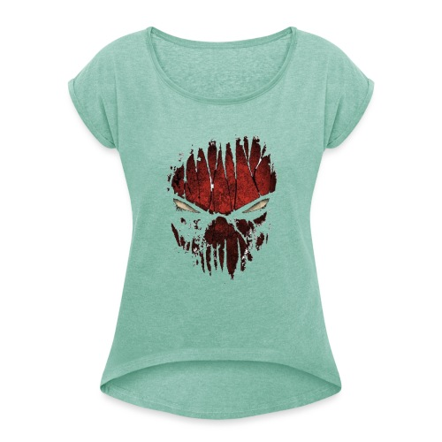 spyder man ( Vio ) - Women's T-Shirt with rolled up sleeves
