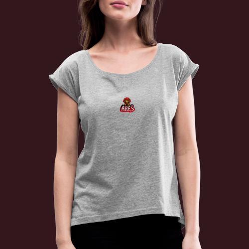 Soldiers - T-shirt à manches retroussées Femme