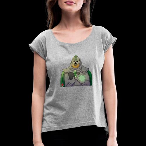 Elliot the Necron! - Women's T-Shirt with rolled up sleeves