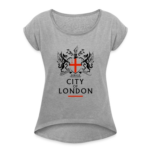City of London - Women's T-Shirt with rolled up sleeves