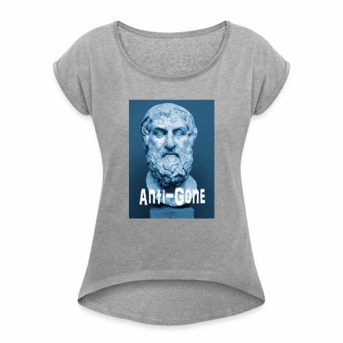 Sophocle - T-shirt à manches retroussées Femme