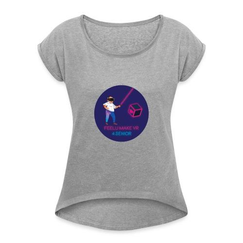 Feelu make vr 4 senior - T-shirt à manches retroussées Femme