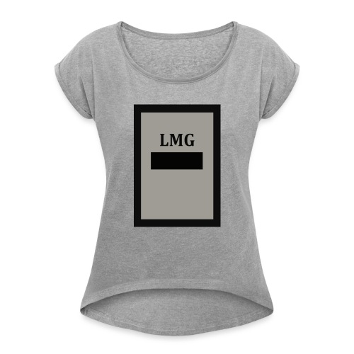 LAMOND- G collection no.7 Divide - Women's T-Shirt with rolled up sleeves
