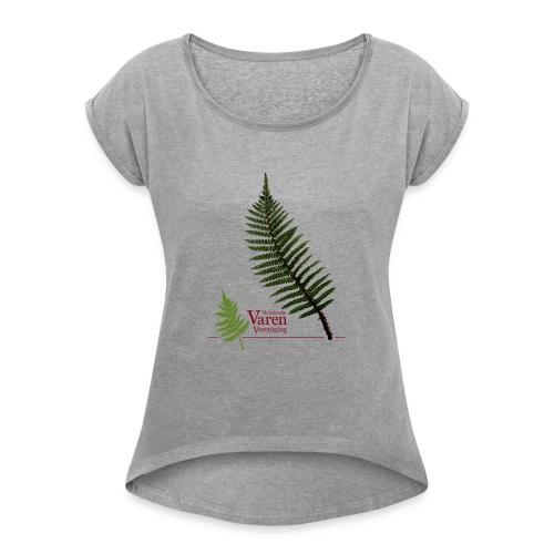 Polyblepharum - Vrouwen T-shirt met opgerolde mouwen