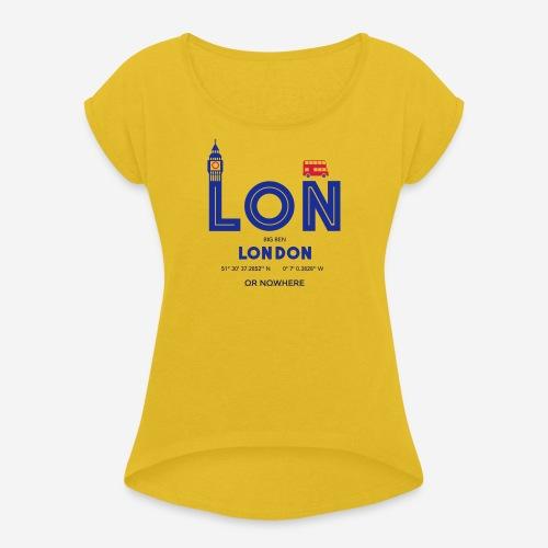 Londra o mai più? - Maglietta da donna con risvolti