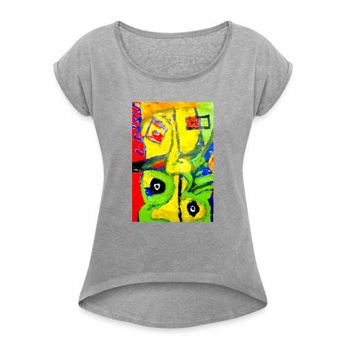 Art1 - Maglietta da donna con risvolti