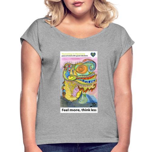 Chinese Dragon - Camiseta con manga enrollada mujer