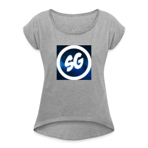 SpandomGaming - Women's T-Shirt with rolled up sleeves