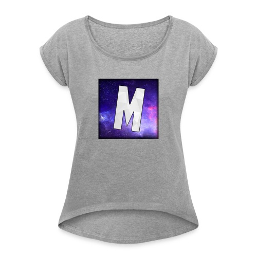 MarForce Logo - Women's T-Shirt with rolled up sleeves