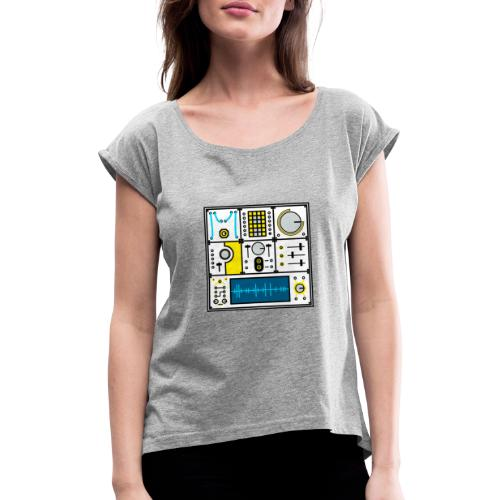 Magpie Modular - Women's T-Shirt with rolled up sleeves
