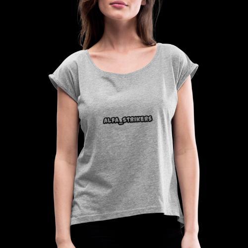 Alfa_Strikers LOGO - Maglietta da donna con risvolti