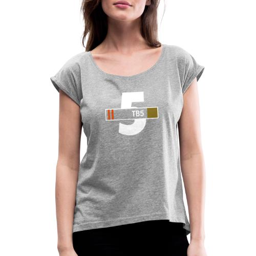 Thunderbird 5 - Women's T-Shirt with rolled up sleeves