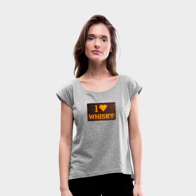 I Love Whisky - Schild