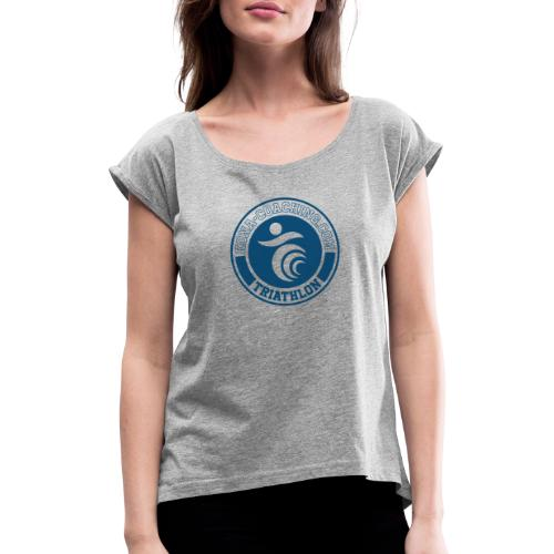 KC sweater - Women's T-Shirt with rolled up sleeves