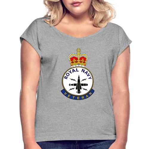 RN Vet OM - Women's T-Shirt with rolled up sleeves