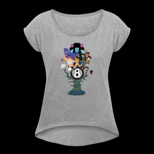 UD8 - t-shirt saisonnier - T-shirt à manches retroussées Femme