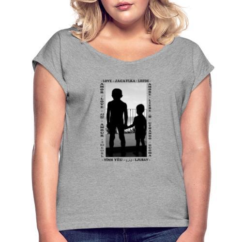 Fratelli - Maglietta da donna con risvolti