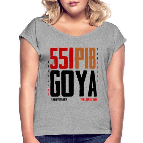 Chemise 551 PIB - T-shirt à manches retroussées Femme