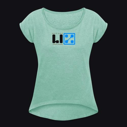 LIZ Before the Plague (Logo) - Maglietta da donna con risvolti