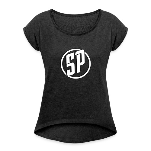 SPLogo - Women's T-Shirt with rolled up sleeves