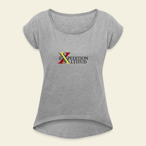 Expedition Altitud - T-shirt med upprullade ärmar dam