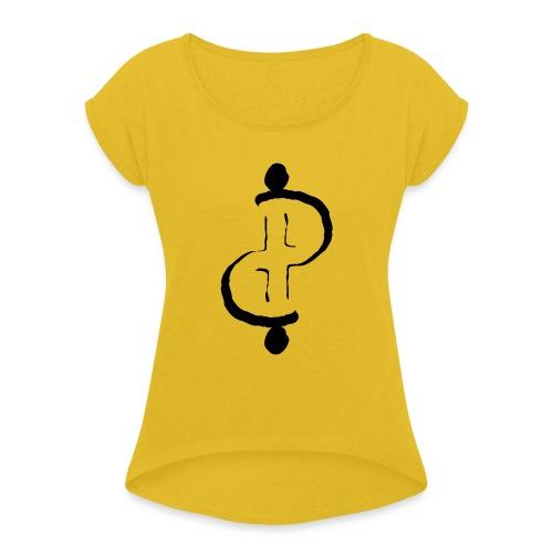 TwoFriends - Maglietta da donna con risvolti
