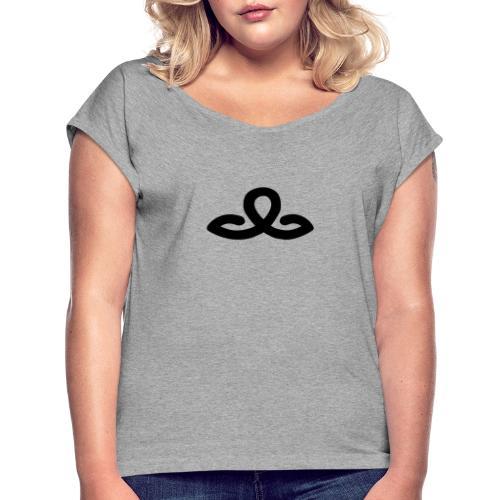 Hotel Seppl Signet - Frauen T-Shirt mit gerollten Ärmeln