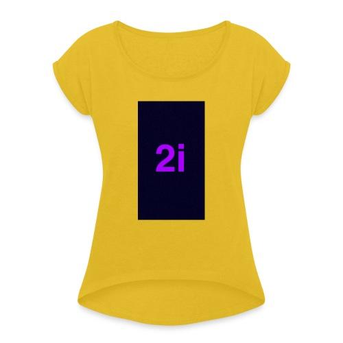 2i - T-shirt à manches retroussées Femme