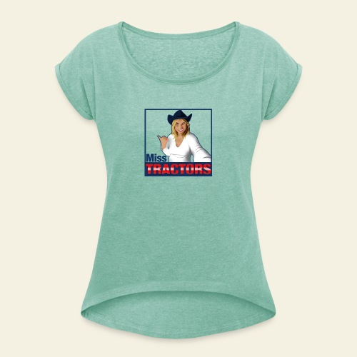 Miss Tractors Logo - Maglietta da donna con risvolti