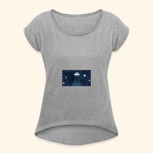 martien galactic - T-shirt à manches retroussées Femme